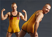 Pulse Sheer Wrestling Singlet - Germany Detail 1
