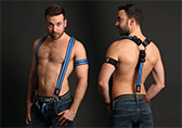 Breedwell Glow Suspenders / Harness  Detail 1
