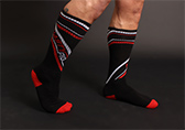 Nasty Pig Speed Demon Socks Detail 1