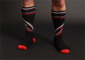 Nasty Pig Speed Demon Socks Detail 2