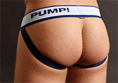 PUMP! Blue Steel Jockstrap Detail 2