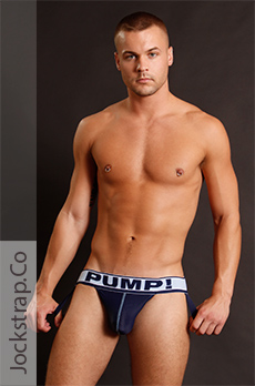 PUMP! Blue Steel Jockstrap