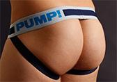 PUMP! True Blue Jockstrap Detail 2