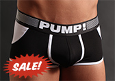 PUMP! Black Access Trunk (open back)