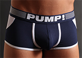 PUMP! Navy Access Trunk (open back)