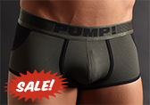 PUMP! Military Access Trunk (open back)