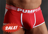 PUMP! Red Access Trunk (open back)