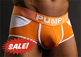 PUMP! Creamsicle Access Trunk (open back)