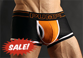PUMP! Nightlight Touchdown Boxer