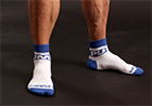 PUMP! All-Sport Blu Socks 2-packs