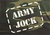 Jockstrap Central Army Jock T-Shirt Detail 2