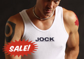 Jockstrap Central Jock Ribbed Tank Top