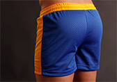 Jack Adams Air Mesh Gym Shorts Detail 2