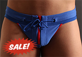 Jack Adams Gridiron Jockstrap with Zipper