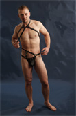 Male Power Gladiator Thong with Harness