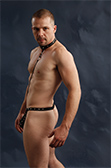 Male Power Tormentor Thong with Harness