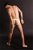Male Power Neon Panel Moonshine Jockstrap