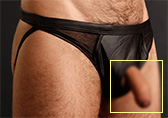 Male Power Extreme Prolong Panel Jock Detail 1