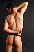 Male Power Extreme Strappy Ring Thong