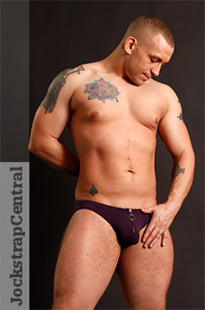 Male Power Radical Sport Zipper Moonshine Jockstrap