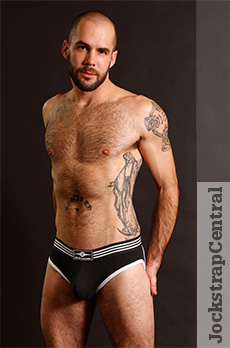Mr S Leather Athletic Jock
