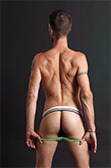 Bargain Baskit Ribbed Jockstrap