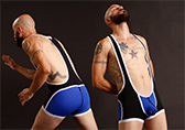 CellBlock 13 Ambush Wrestling Singlet w/ Zippers