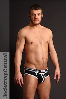 CellBlock 13 X-treme Hybrid Slingback Jockstrap with Cock Ring