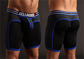 CellBlock 13 X-treme Hybrid Short with Cock Ring Detail 1