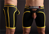 CellBlock 13 X-treme Hybrid Short with Cock Ring Detail 2