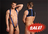 CellBlock 13 X-treme Hybrid Harness with Cock Ring