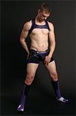 CellBlock 13 Arsenal Trunk with Jock Armour Cock Ring