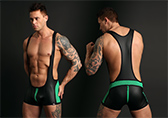 CellBlock 13 Vector Zipper Wrestling Singlet
