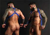 CellBlock 13 Triple Threat Neoprene Harness Detail 2