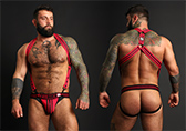 CellBlock 13 Triple Threat Neoprene Harness Detail 1