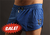 CellBlock 13 Tailback Mesh Short with Jock Pouch