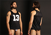 CellBlock 13 Tailback Mesh Tank Top