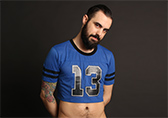 CellBlock 13 Tailback Mesh Crop Top