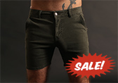 CellBlock 13 Titan Zipper Back Shorts