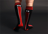 CellBlock 13 Liquid Shadow Socks Detail 2