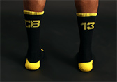 CellBlock 13 Uniform Crew Sock Detail 2