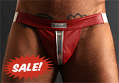 Raw Studio Lambs Touch Leather Jockstrap