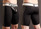 Maskulo Full Fetish Short w/ Cod Piece