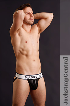 Maskulo Jockstrap with Detachable Pouch
