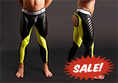 Maskulo Open Back Leggings with Easy Access Cod Piece