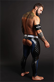 Maskulo Open Back Leggings 2.0 with removable Cod Piece