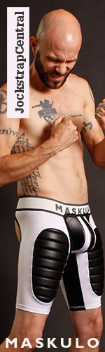 Maskulo Fetish Shorts with Detachable Cod Piece