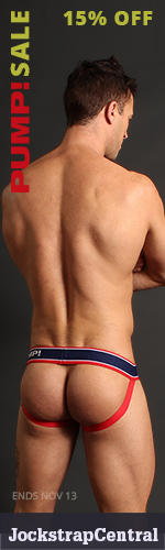 PUMP! Sale plus new Jockstraps and Briefs