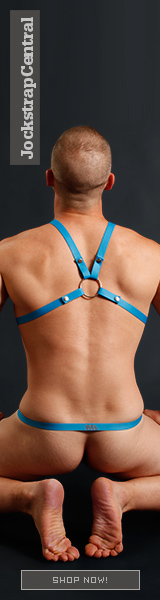 Male Power Rip Off Harness with Cock Ring