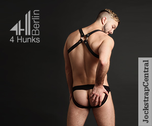 4 Hunks Berlin Wrestling Singlets and Jockstraps